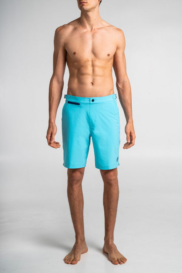 Light Blue Swim Bermuda Debayn Men's Swimwear