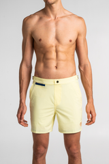 Light Yellow Swim Shorts Debayn Men's Swimwear