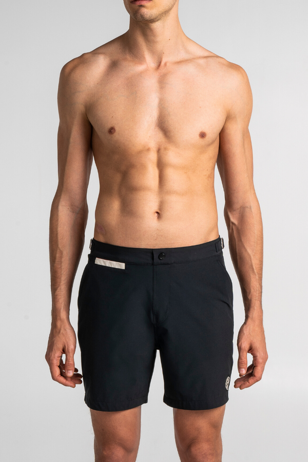 Black Swim Shorts Debayn Men's Swimwear