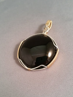 Black Onyx Wire Wrapped