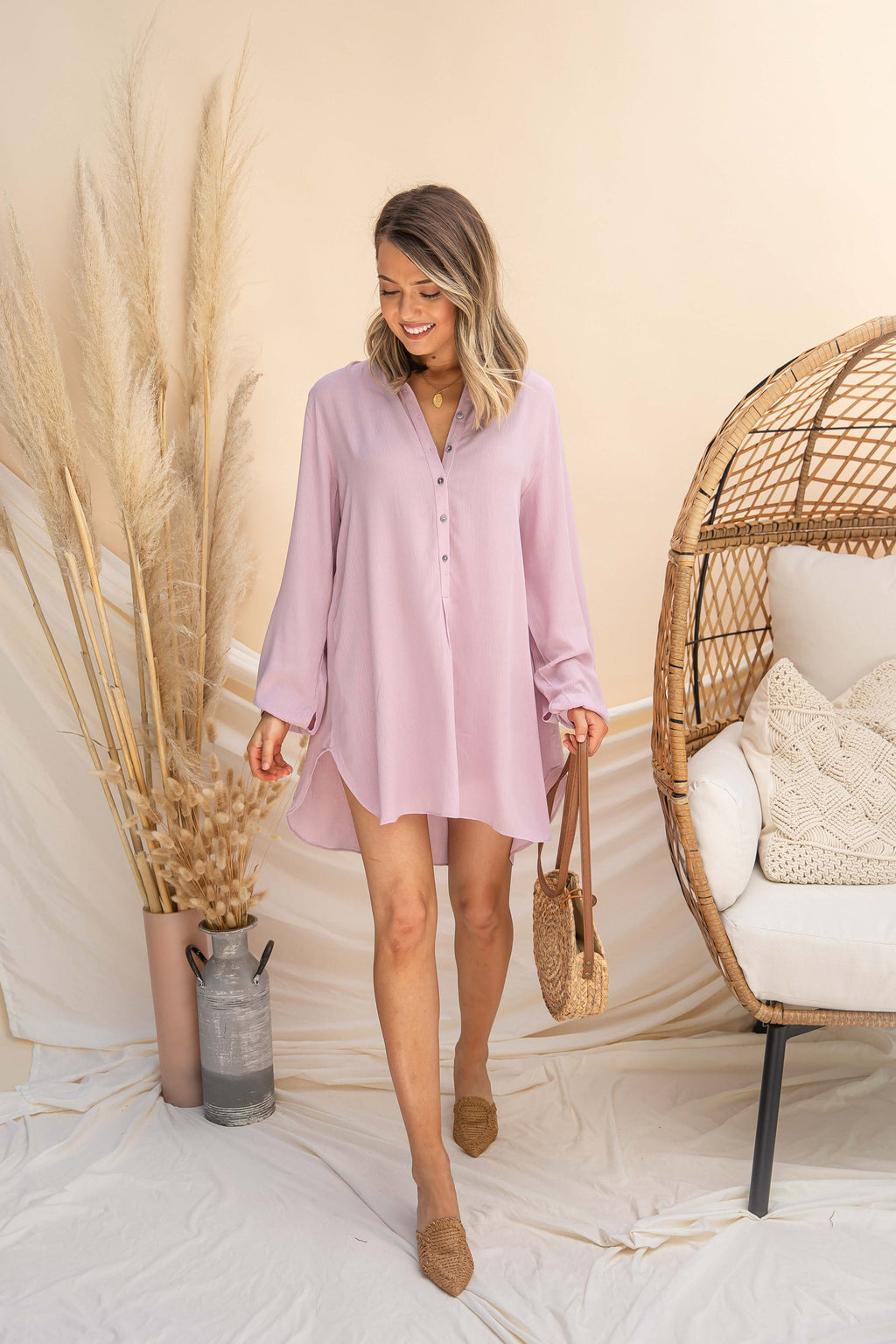 Lily Button Up Tunic