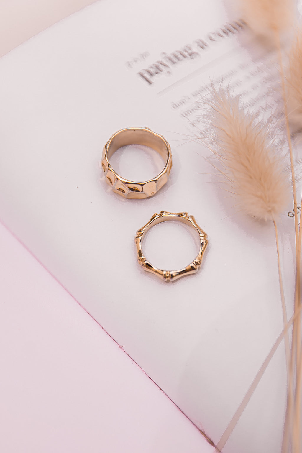 Bamboo Ring Set