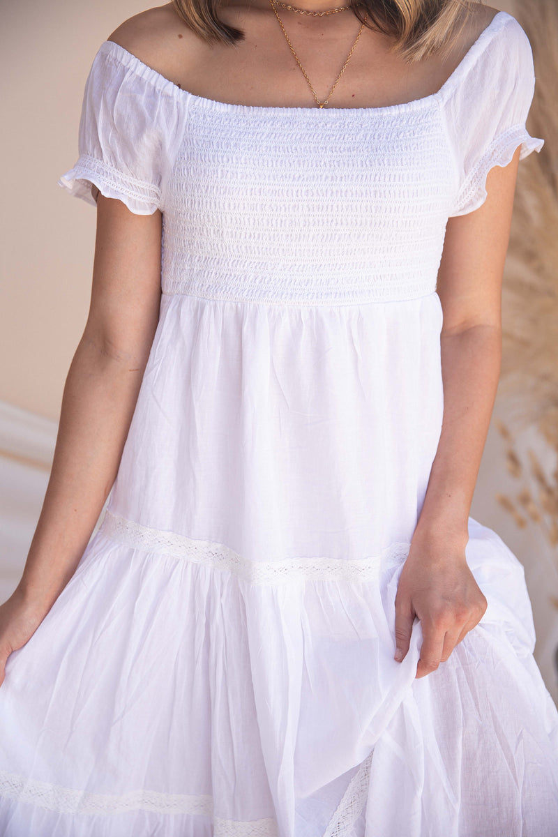 Avery Smocked Dress