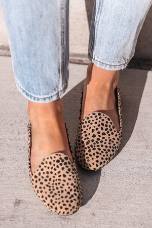 Leopard Suede Loafers
