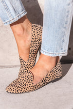Leopard Suede Loafers- FINAL SALE | LLACIE