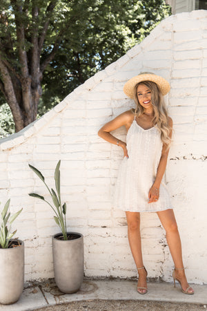 Kaia Oatmeal Dress- FINAL SALE