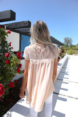 Jasmine Lace Blouse