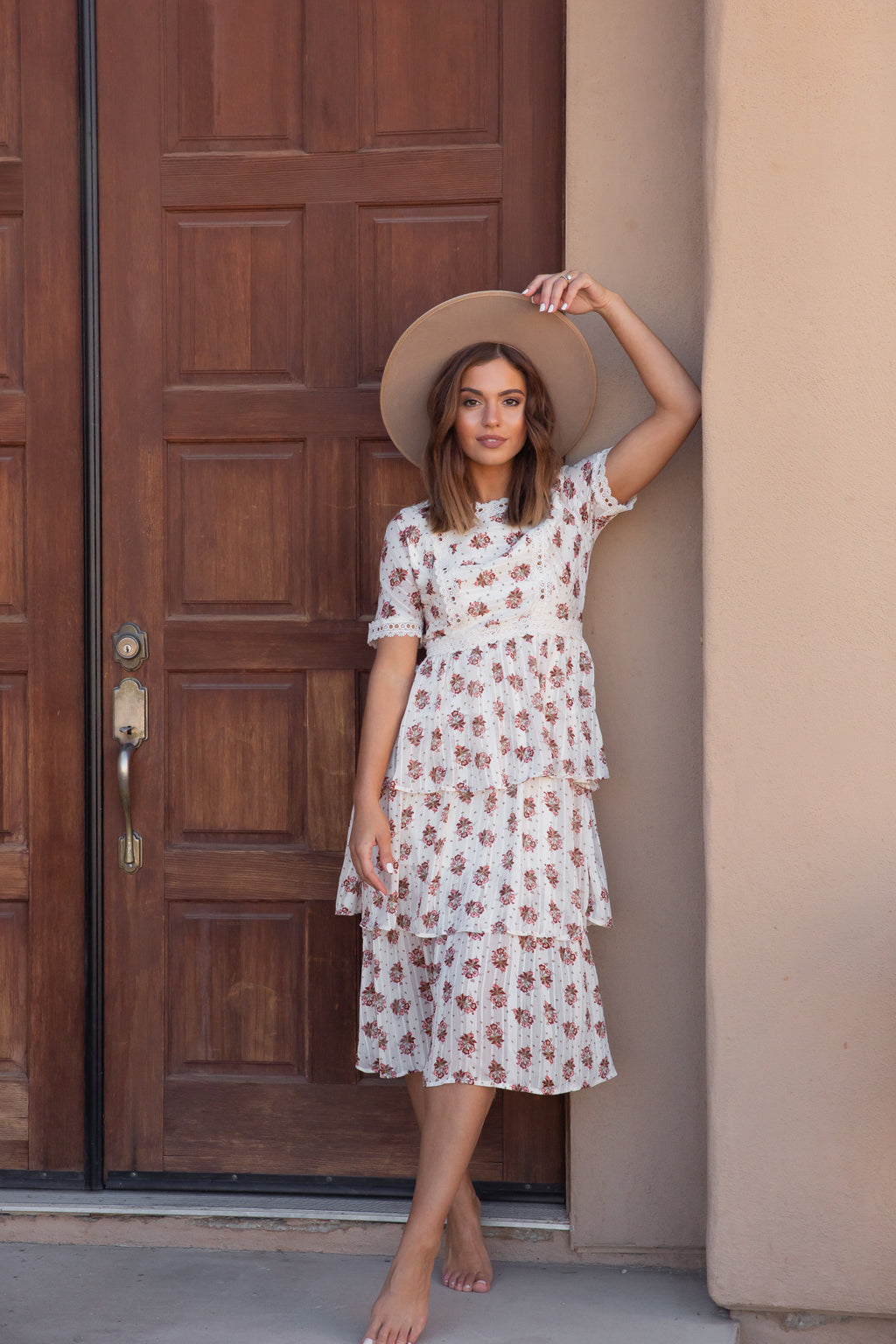 Leena Floral Tiered Dress | LLACIE