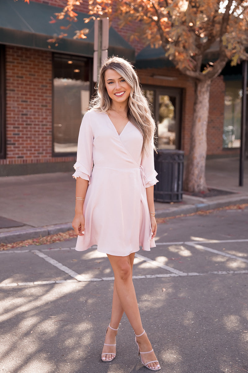 Angel Satin Dress