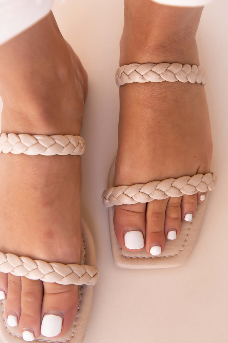 Braided Sandals - LLACIE