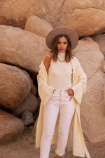 Stay Effortless Knitted Trench Coat | LLACIE