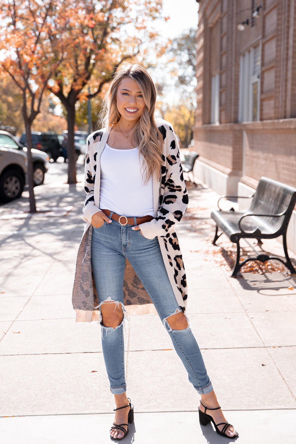 All Fall Long Leopard Cardigan