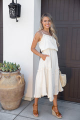 Love Note Natural Textured Dress