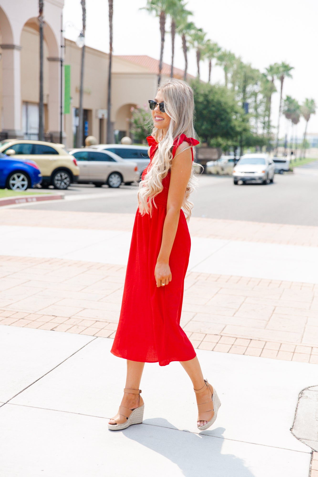 Mickey Red Bow Dress