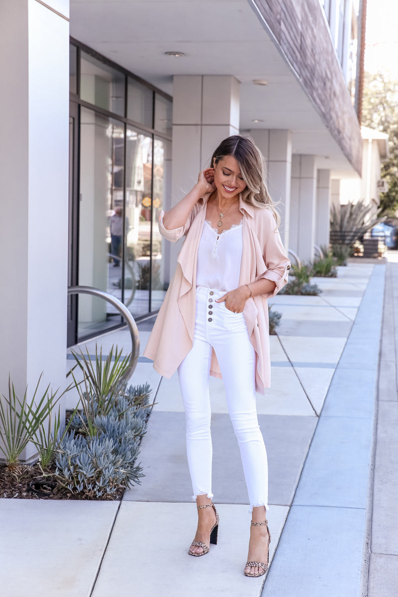 Inka Blush Waterfall Jacket
