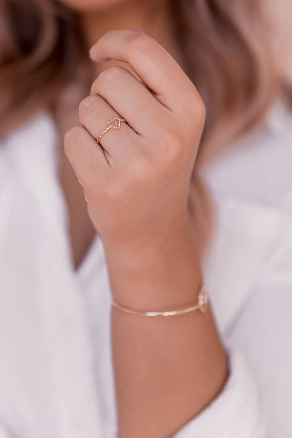 Forever Gold Heart Ring