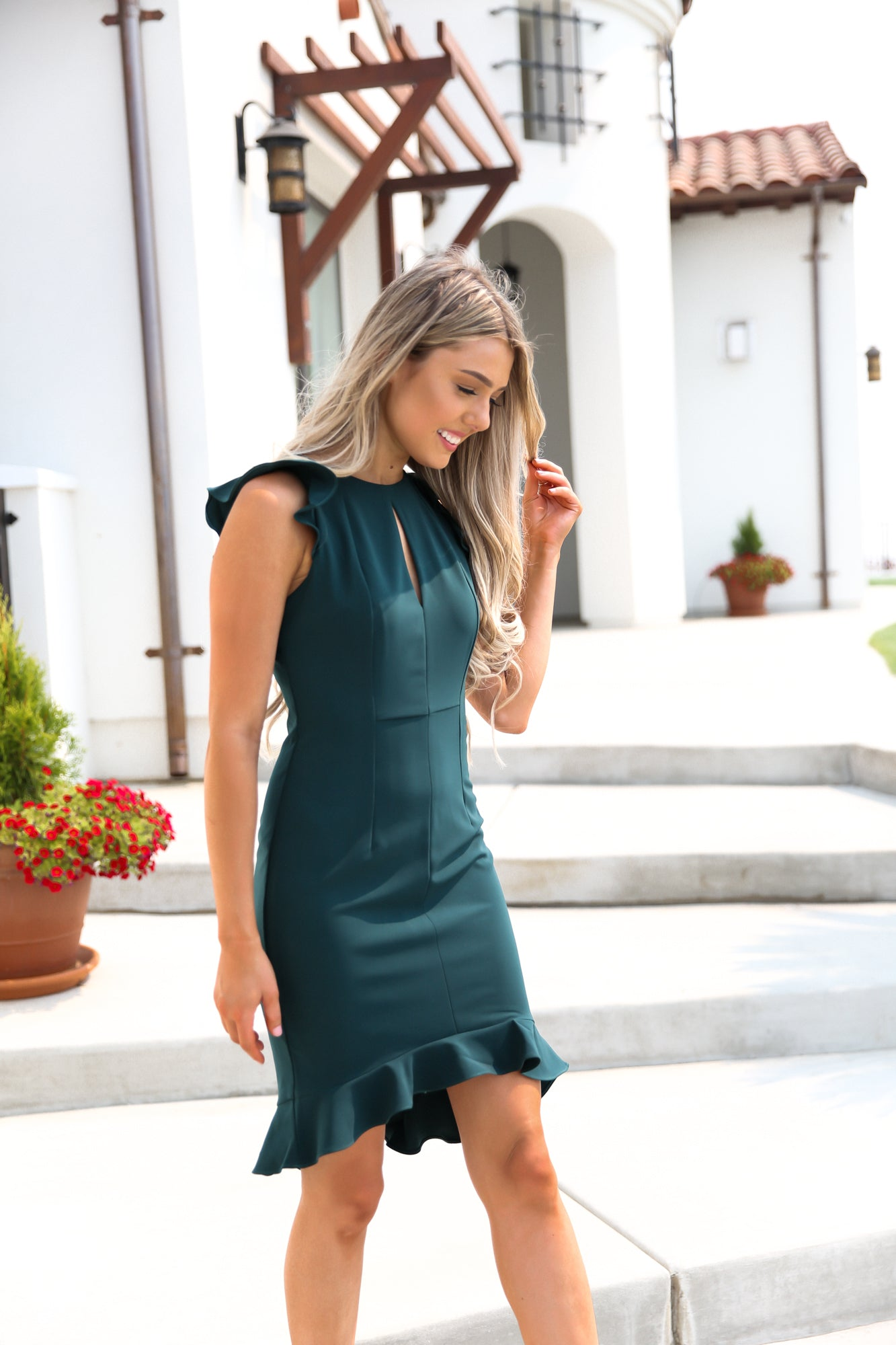 Winsome Bodycon in Emerald