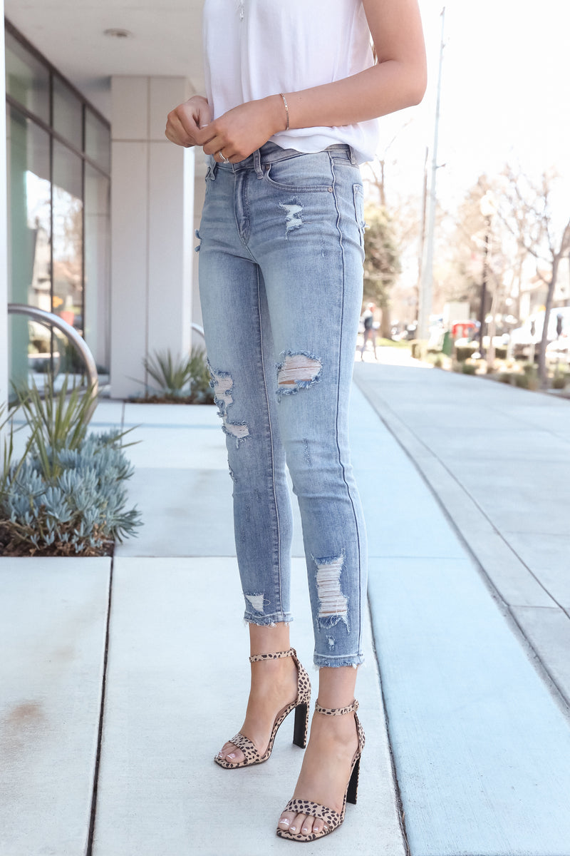 On The Go Medium Wash Jeans