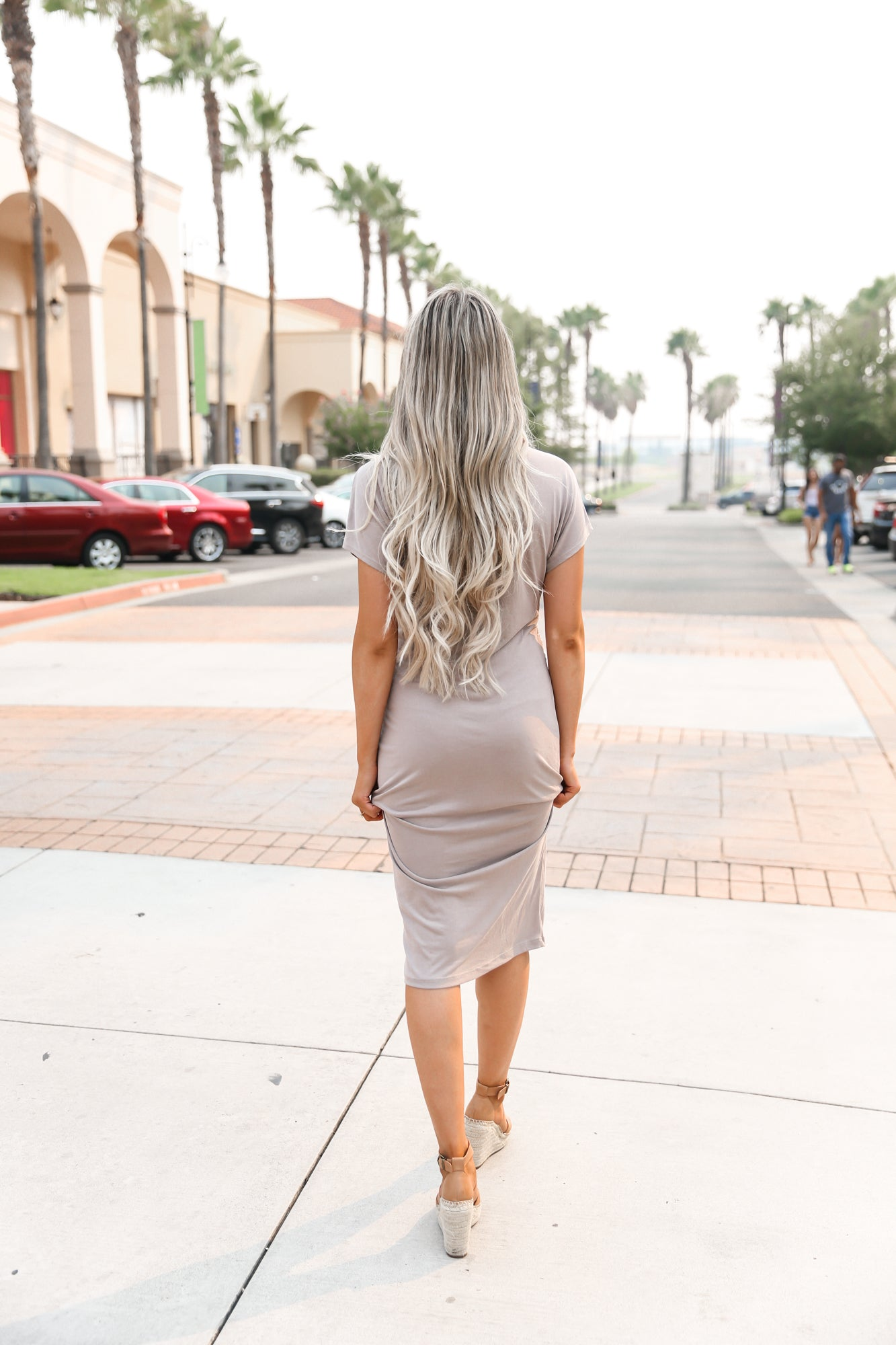 ROSIE TWISTED KNOT DRESS