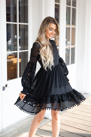 Forever Yours Black Dress - llacie