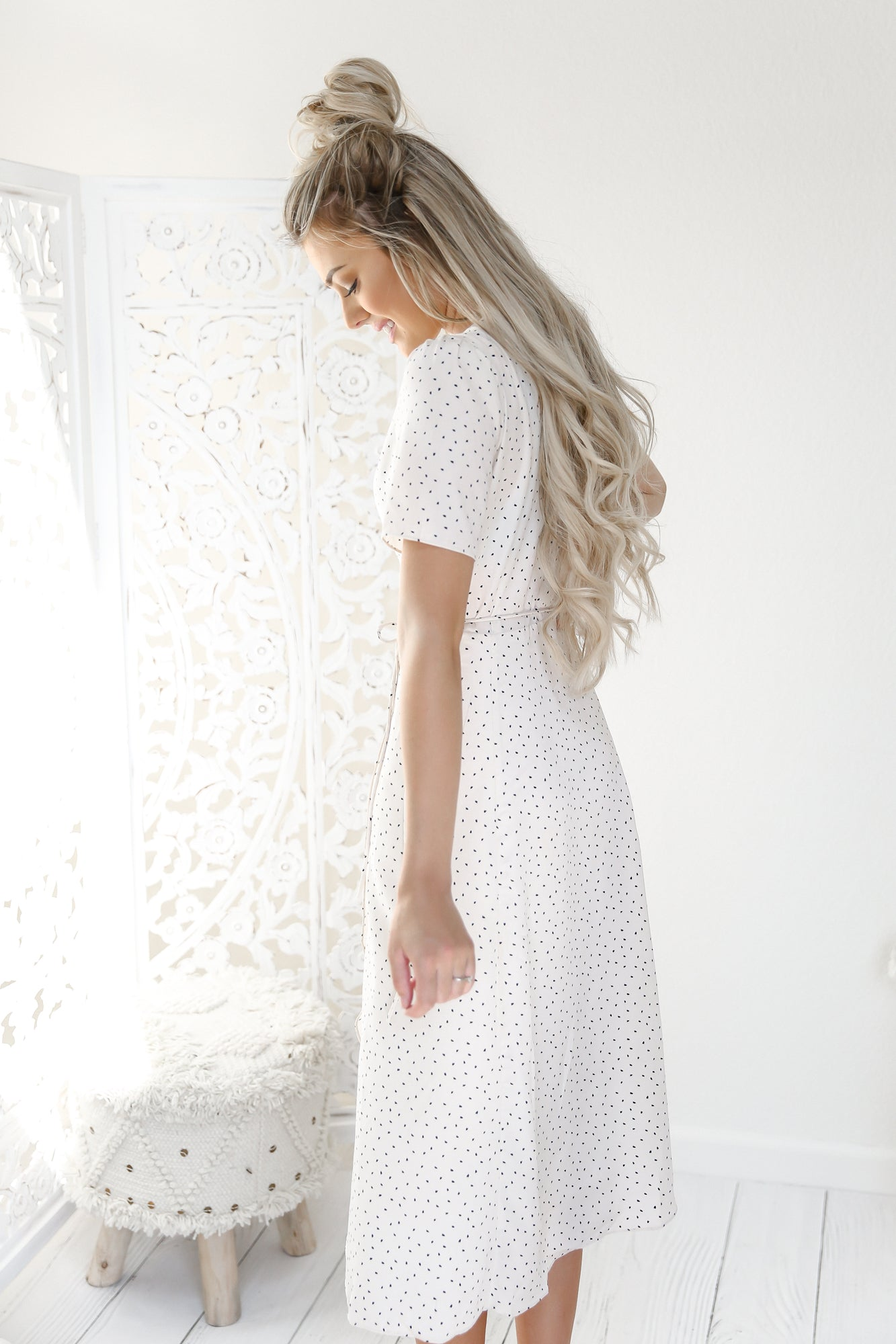 Kate Dot Dress