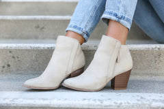 Fall-ing in Love Taupe Booties