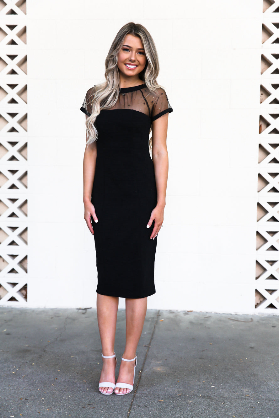 Khlo Bodycon in Night