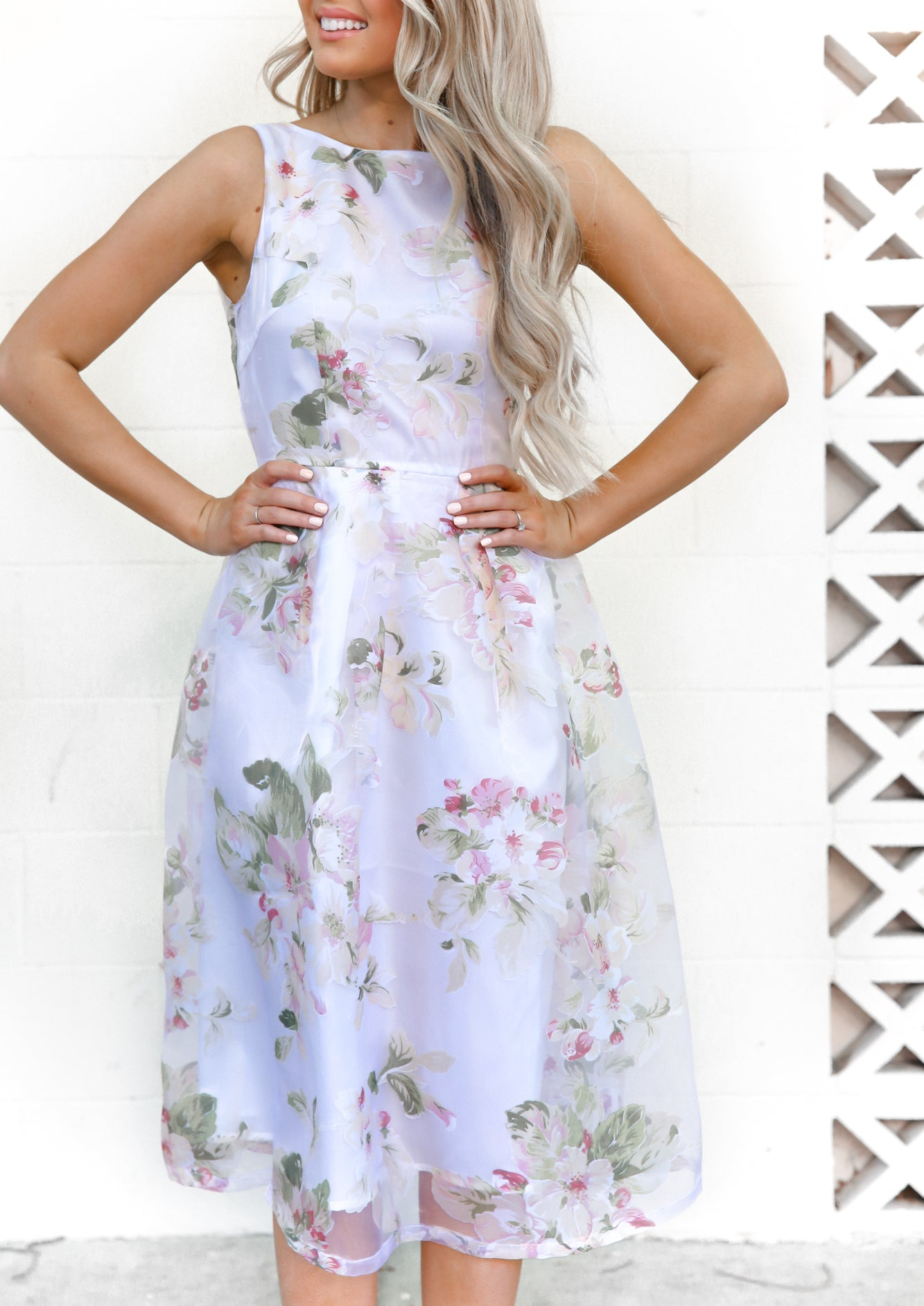 Kenzie Midi Floral Dress