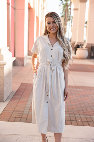 Lauren Linen Dress - llacie