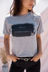 Jesus Over Everything Graphic Tee