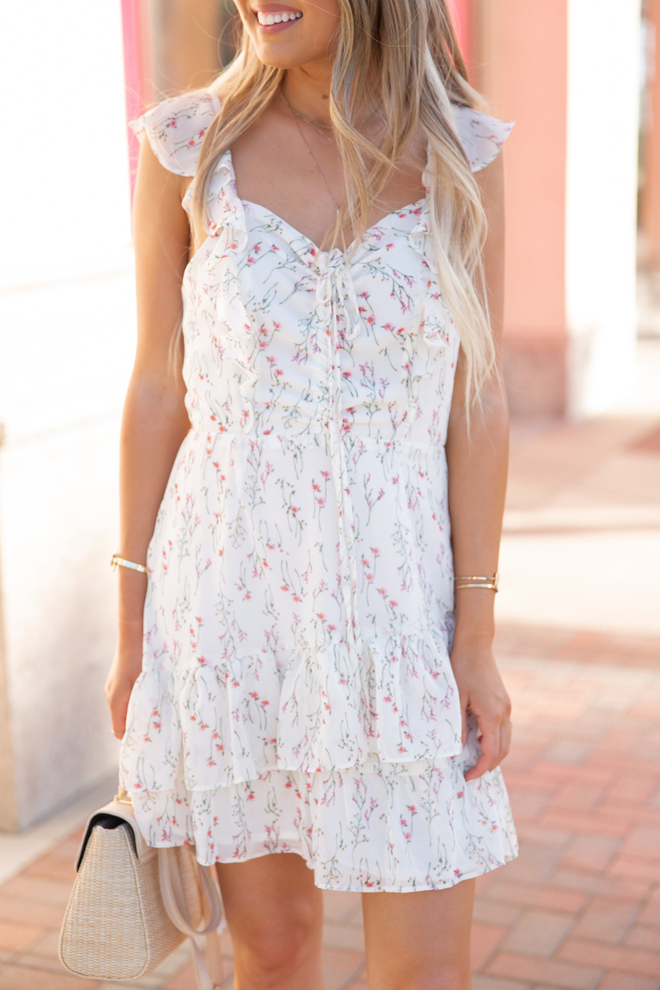 Cindy Floral Sundress - llacie