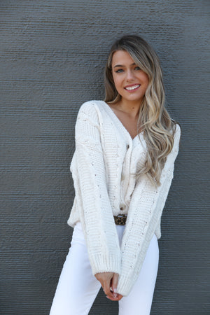 Alpine Knit Cardigan