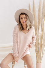 Butter Soft Blush Sweater
