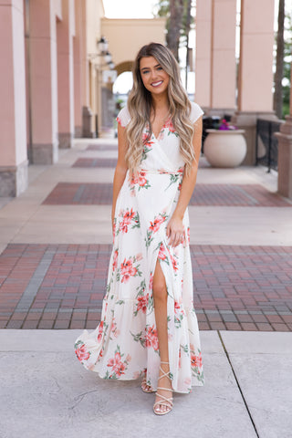 All About Love Floral Maxi Dress - llacie