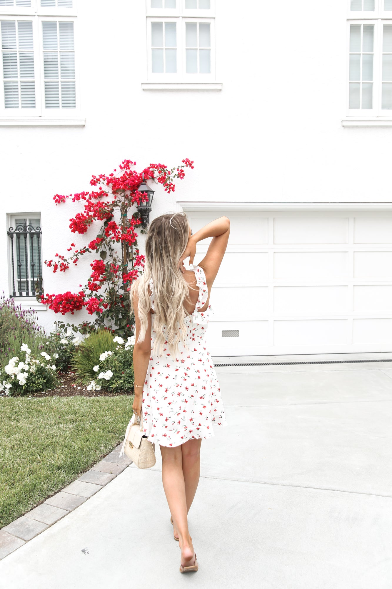 Beach Date Mini Floral Dress