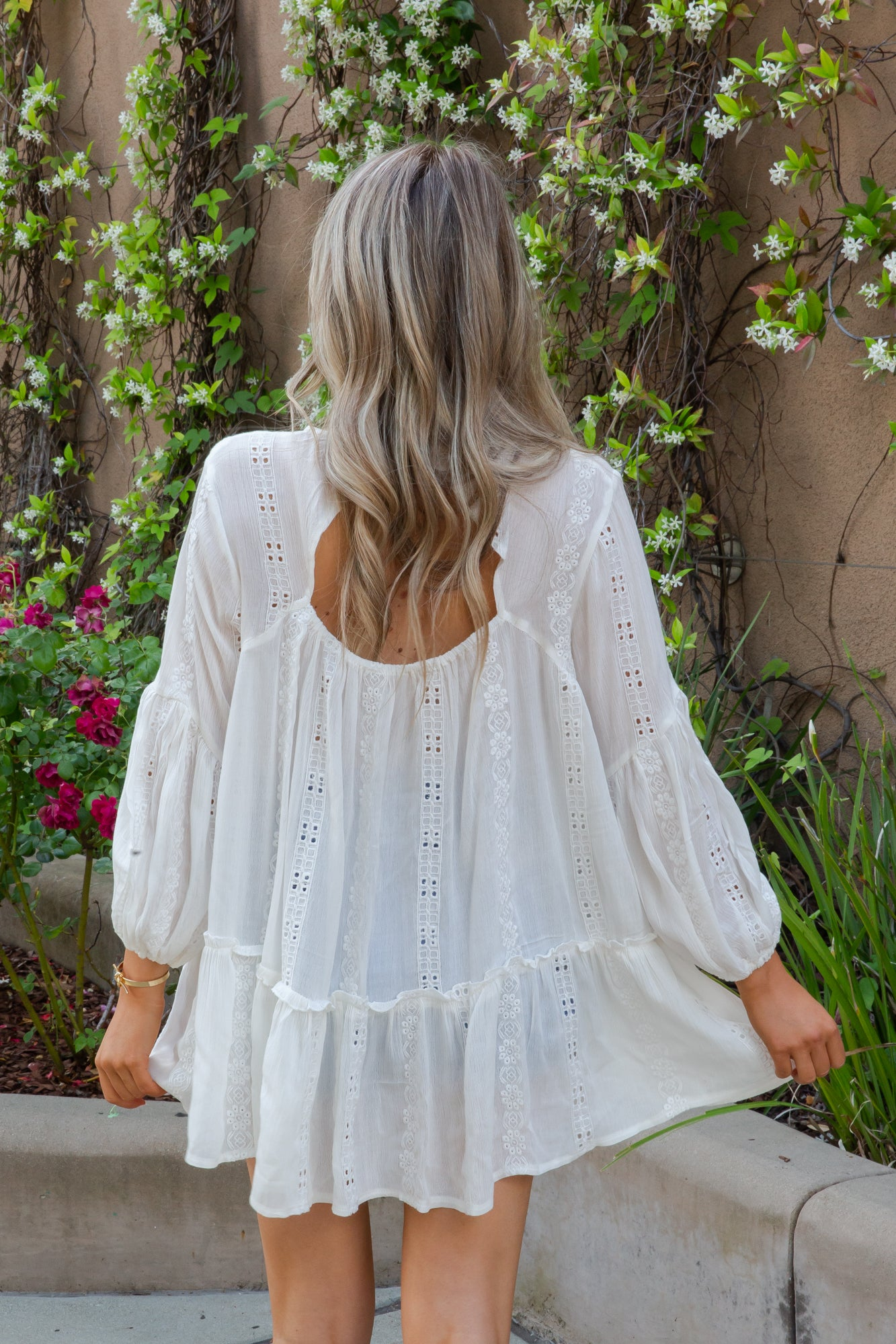 Oia Off White Tunic - llacie
