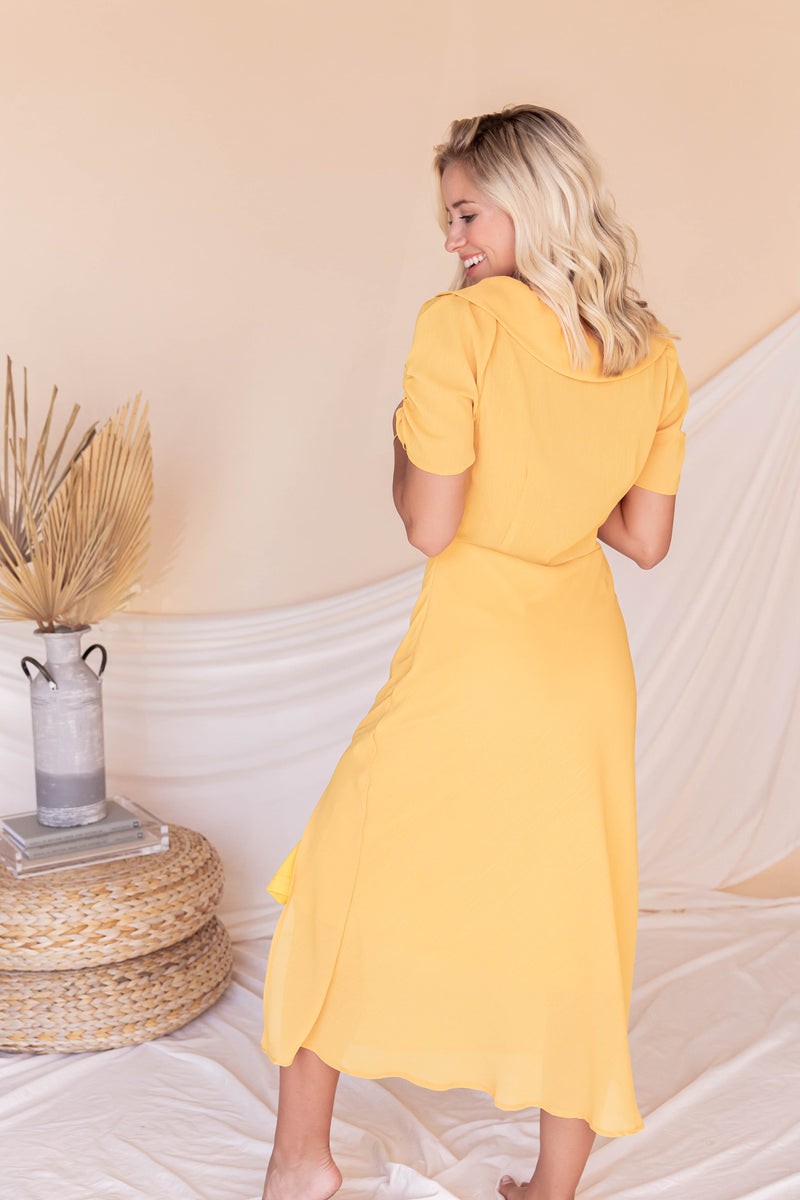Juliet Midi Dress | Honey