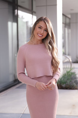 Lucy Ribbed Top