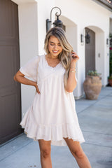 Sun-Drenched Babydoll Dress