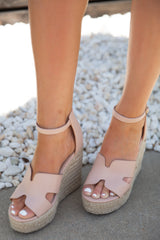 Blush H Wedges