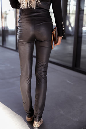 Zo Black Leggings