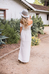 Pearl White Maxi Dress