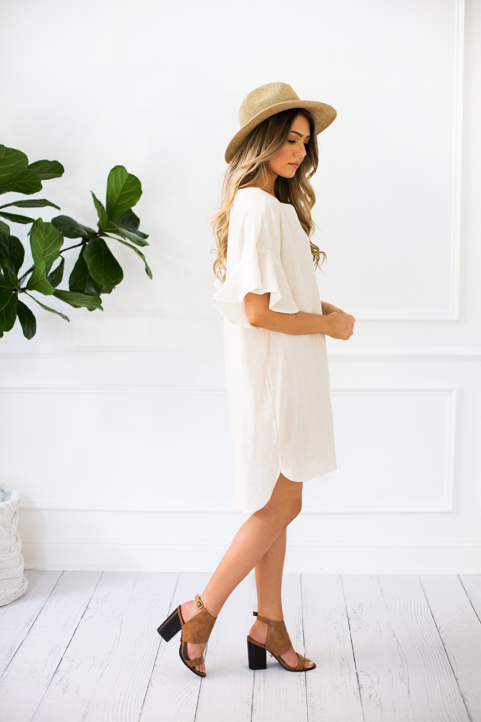 Lily Bell Sleeve Midi Dress