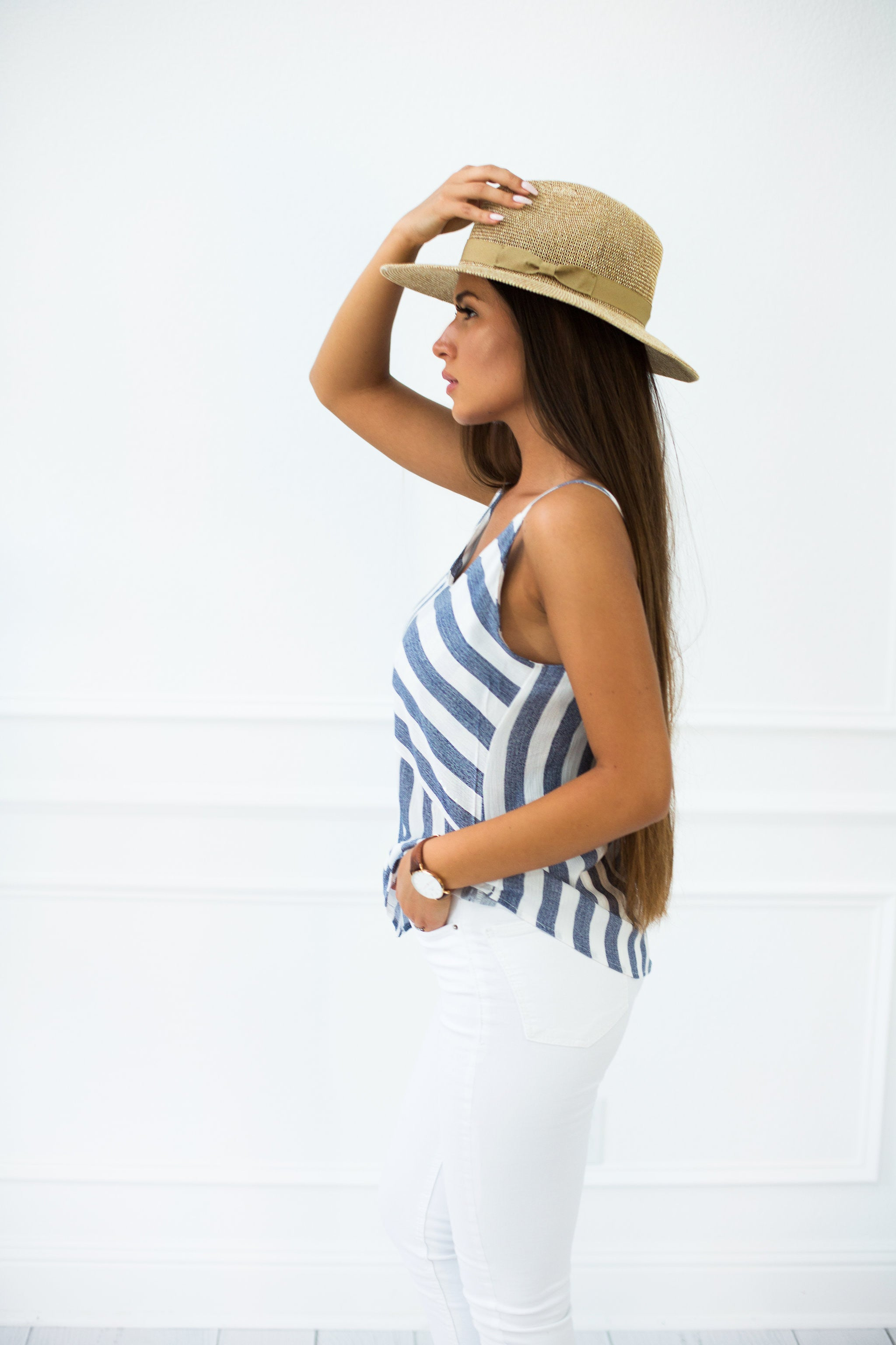 Mimi Striped Tank Top - llacie