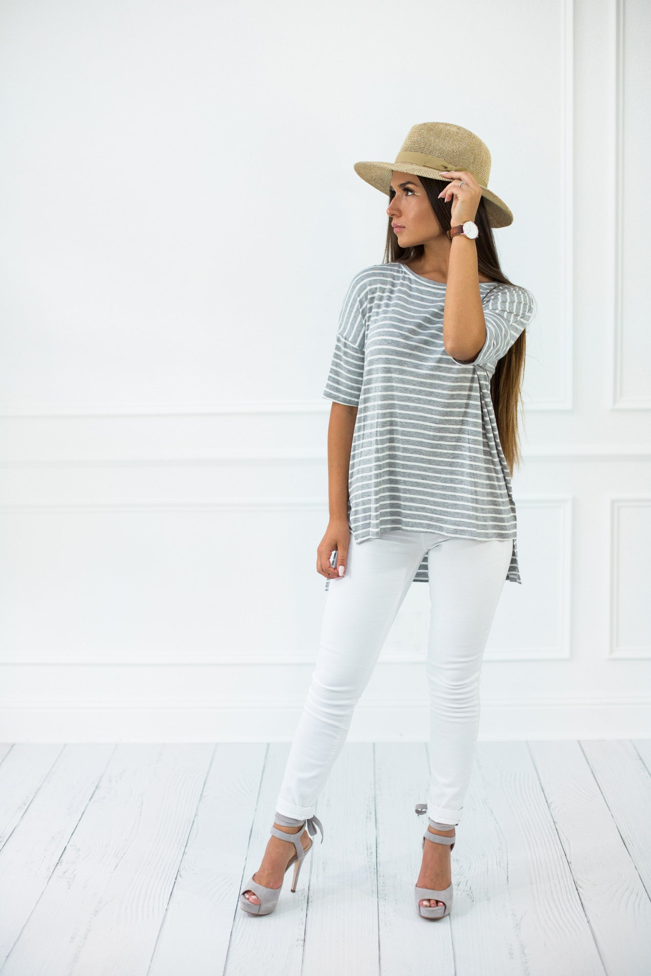 Lesley Striped Top
