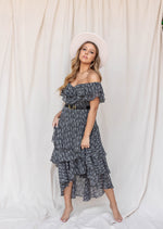 Remi Black Tiered Dress - LLACIE