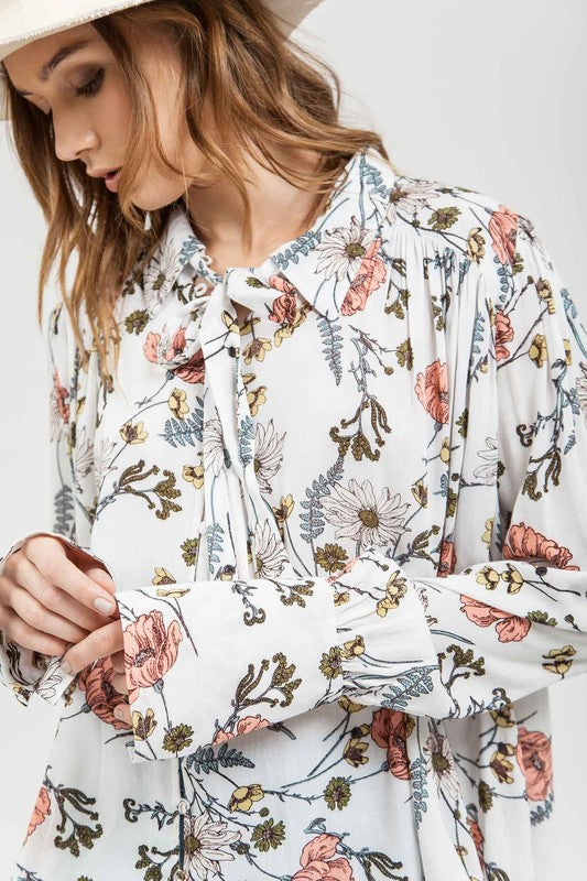 Lala Floral Top - llacie