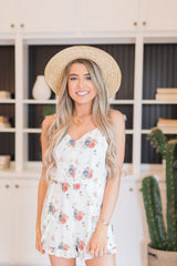 Far From Home Floral Romper - llacie