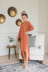 Spice Maxi Knot Dress - llacie