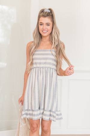 Sea Side Stripe Dress - llacie